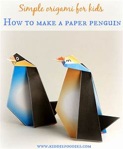 Colorful penquins and papers